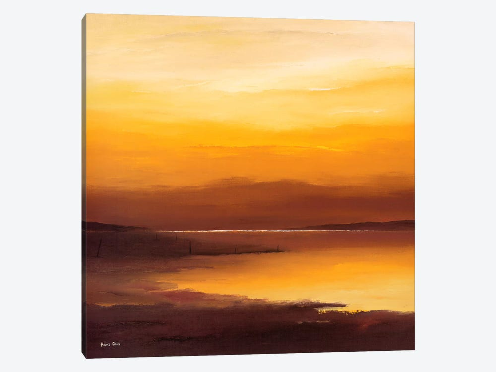 Evening Sky I by Hans Paus 1-piece Canvas Print