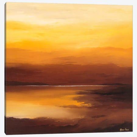 Evening Sky II Canvas Print #HPA38} by Hans Paus Art Print