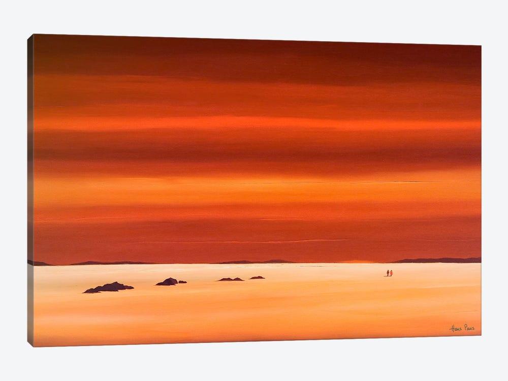 Evening Sky III by Hans Paus 1-piece Canvas Art Print