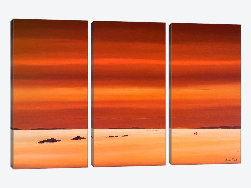 Evening Sky III by Hans Paus 3-piece Art Print