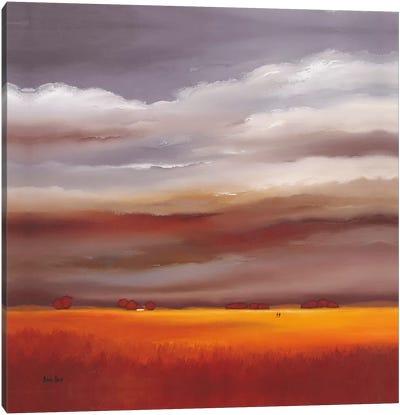 Evening Walk I Canvas Art Print