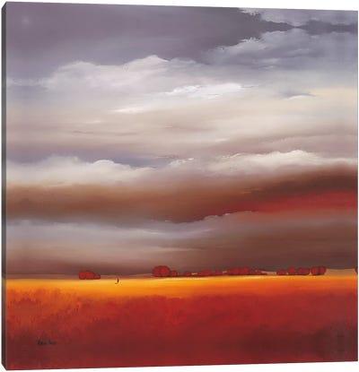 Evening Walk II Canvas Art Print