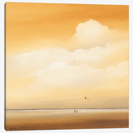 Flying High Canvas Print #HPA43} by Hans Paus Canvas Art