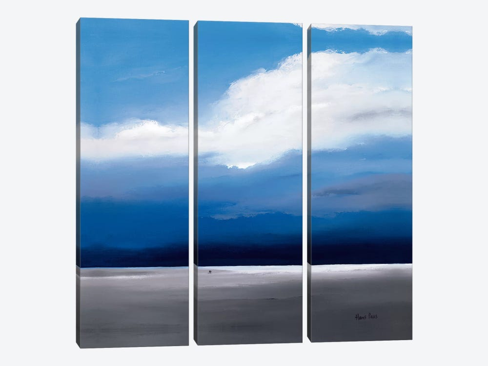 Infinity I by Hans Paus 3-piece Canvas Artwork