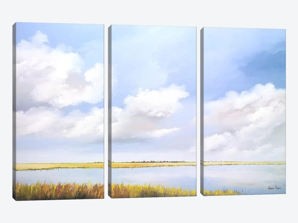 Lake by Hans Paus 3-piece Canvas Artwork