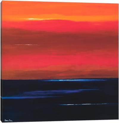 Afterglow I Canvas Art Print