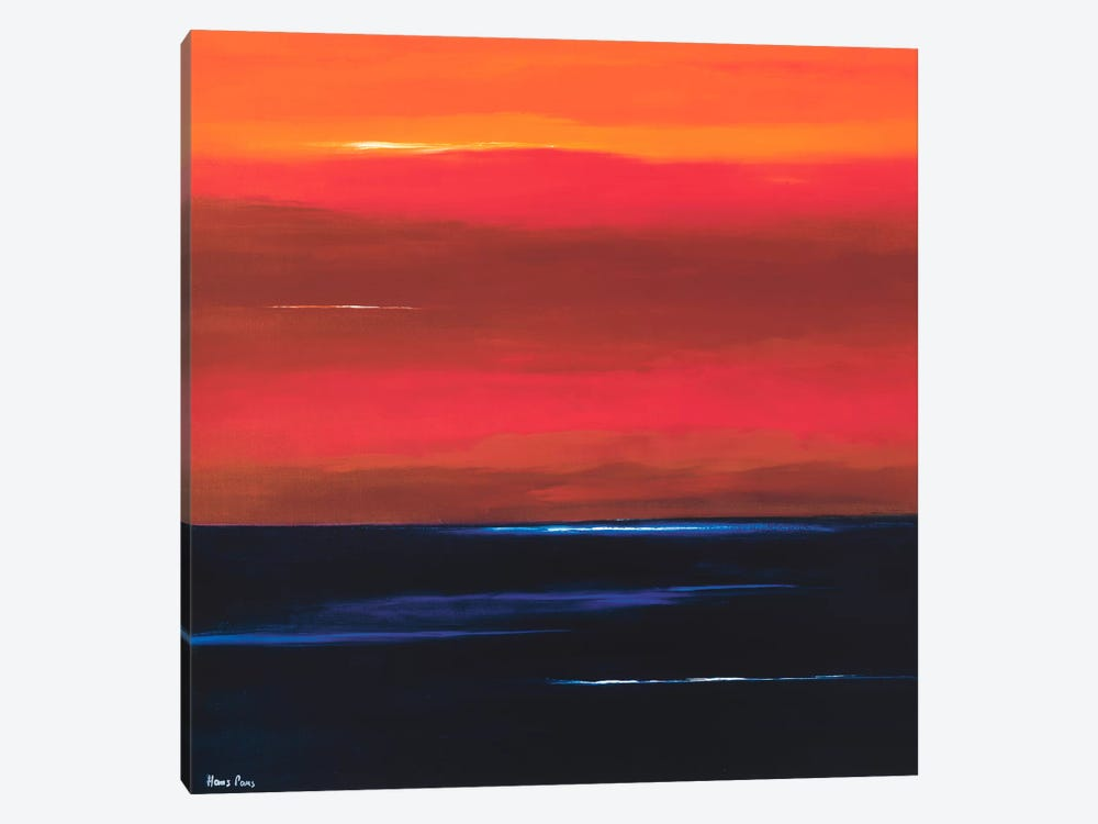 Afterglow I by Hans Paus 1-piece Canvas Print