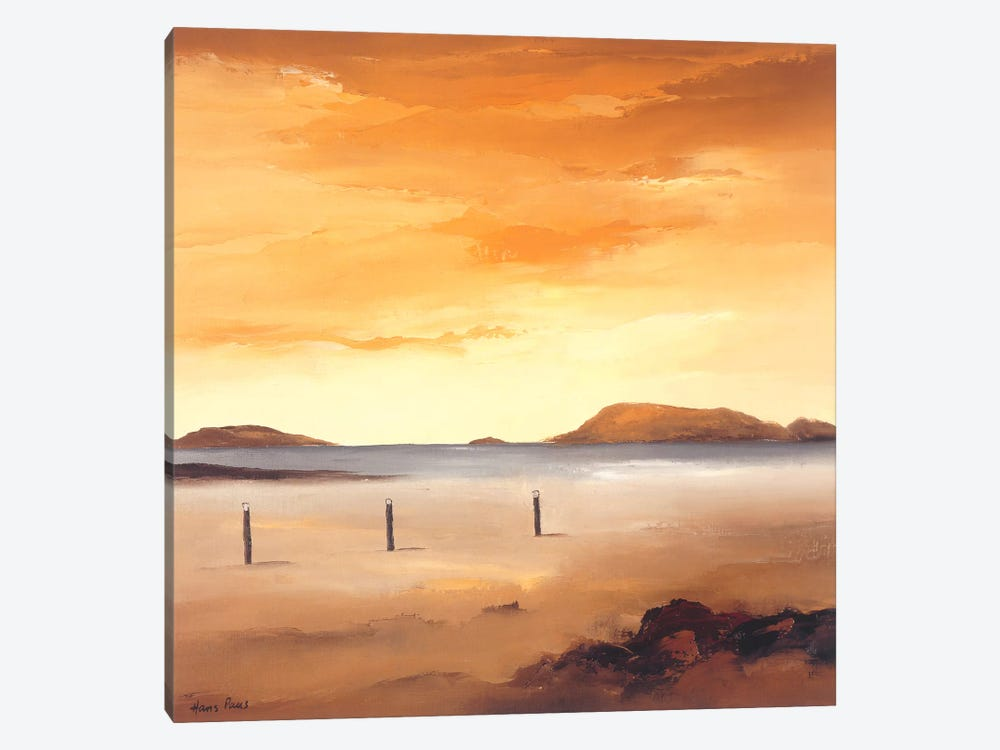 Quiet Sands I by Hans Paus 1-piece Canvas Wall Art