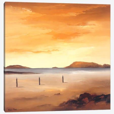 Quiet Sands I Canvas Print #HPA69} by Hans Paus Canvas Art