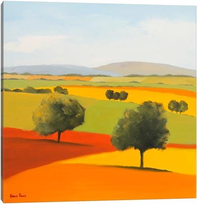 Red Tree Canvas Art Print