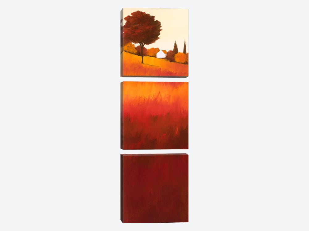 Autumn's Serenity I 3-piece Canvas Wall Art