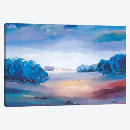 Serene II Canvas Print #HPA79} by Hans Paus Canvas Print