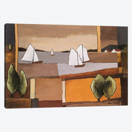 Skyline II Canvas Print #HPA81} by Hans Paus Canvas Art