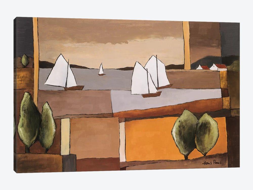 Skyline II by Hans Paus 1-piece Canvas Art