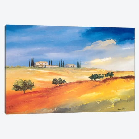 Somewhere In The South I Canvas Print #HPA82} by Hans Paus Canvas Art