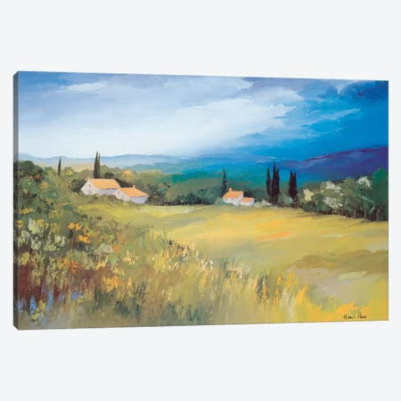 Somewhere In The South II Canvas Print #HPA83} by Hans Paus Canvas Art