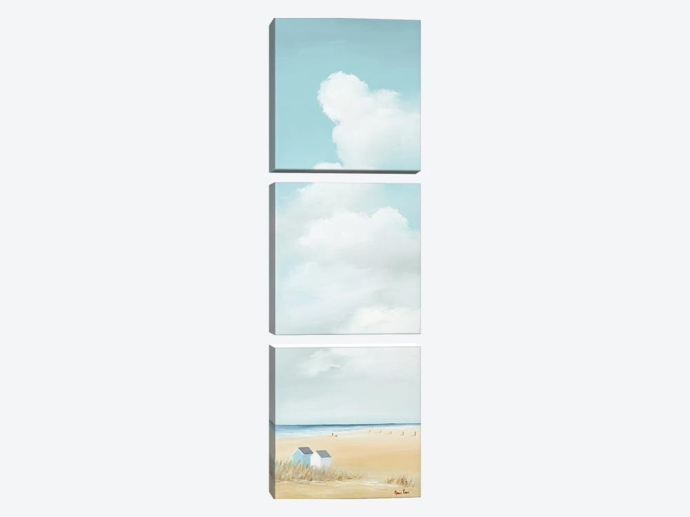 Summertime II by Hans Paus 3-piece Canvas Wall Art