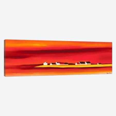 Sundown I Canvas Print #HPA88} by Hans Paus Canvas Wall Art