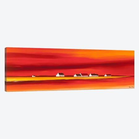 Sundown II Canvas Print #HPA89} by Hans Paus Canvas Wall Art