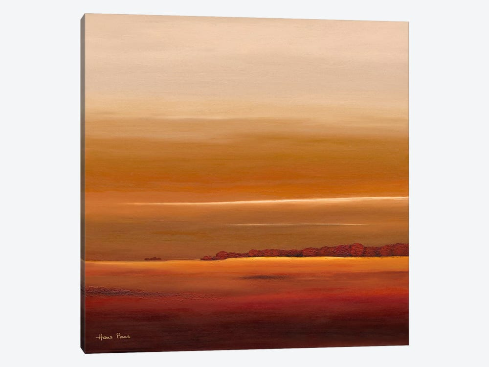 Sundown III by Hans Paus 1-piece Canvas Art