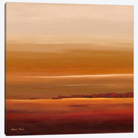 Sundown III Canvas Print #HPA90} by Hans Paus Canvas Art Print