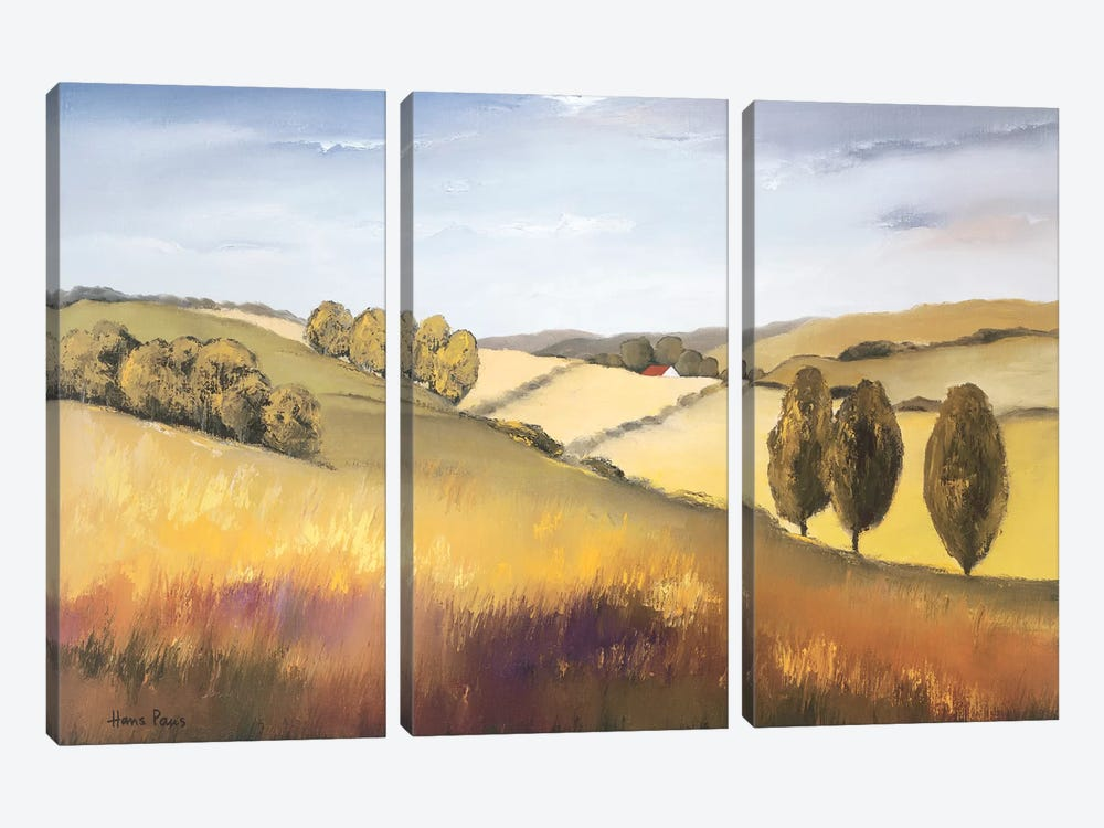 The Cotswold II by Hans Paus 3-piece Canvas Wall Art