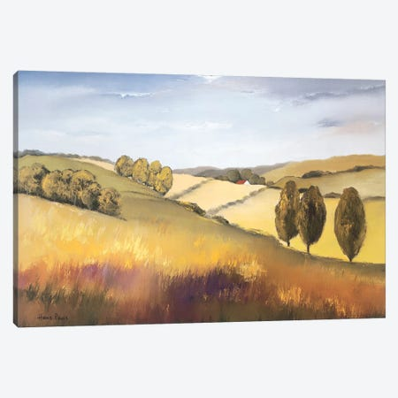 The Cotswold II 3-Piece Canvas #HPA98} by Hans Paus Canvas Art Print