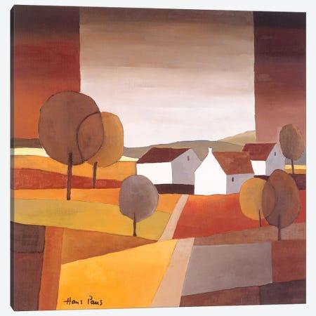 Along The Road I Canvas Print #HPA9} by Hans Paus Art Print