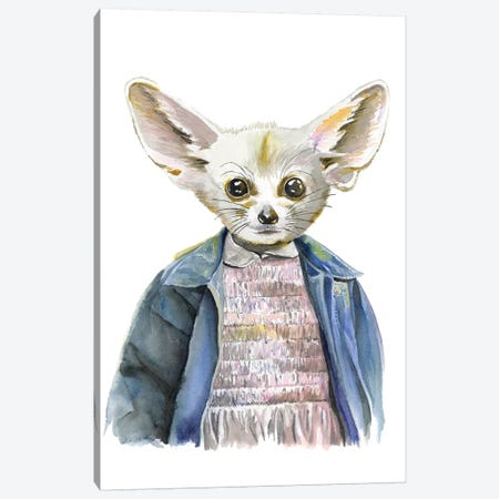 Eleven Fox Canvas Print #HPE11} by Heather Perry Canvas Art Print