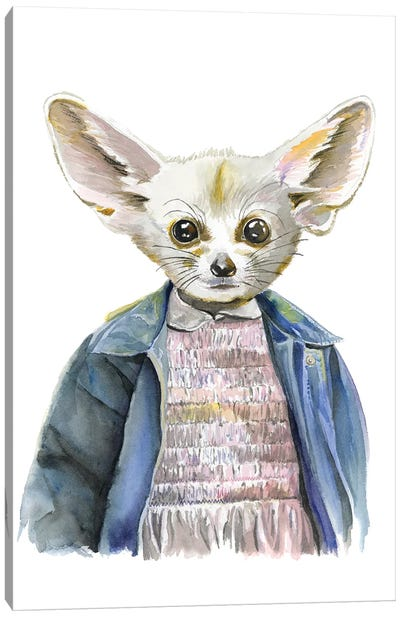 Eleven Fox Canvas Art Print
