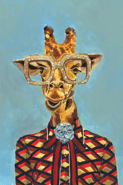 Gucci Giraffe Canvas Wall Art by Heather Perry | iCanvas