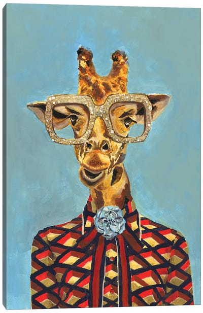 Gucci Giraffe Canvas Art Print