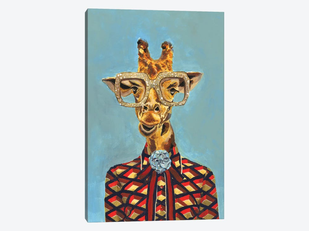 Gucci Giraffe by Heather Perry 1-piece Canvas Art