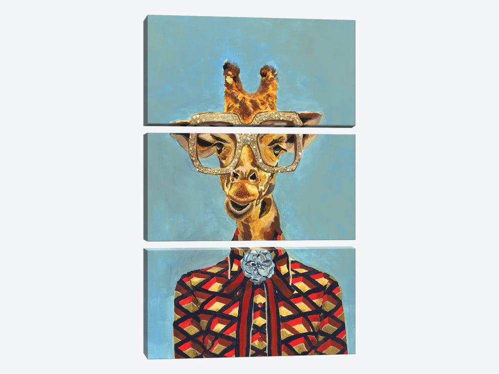 Gucci Giraffe by Heather Perry 3-piece Canvas Artwork