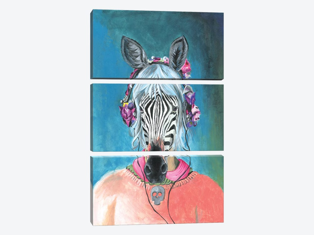 I Can't Hear You by Heather Perry 3-piece Canvas Print