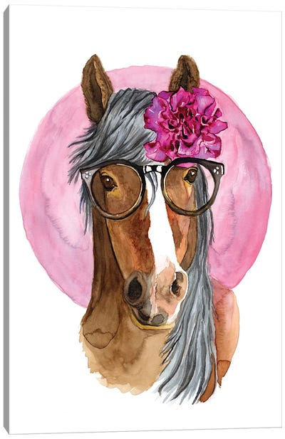 A Fabulous Horse Canvas Art Print