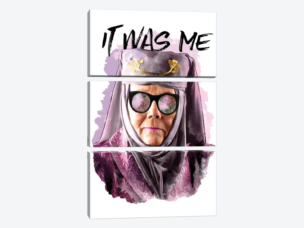 It Was Me by Heather Perry 3-piece Canvas Wall Art