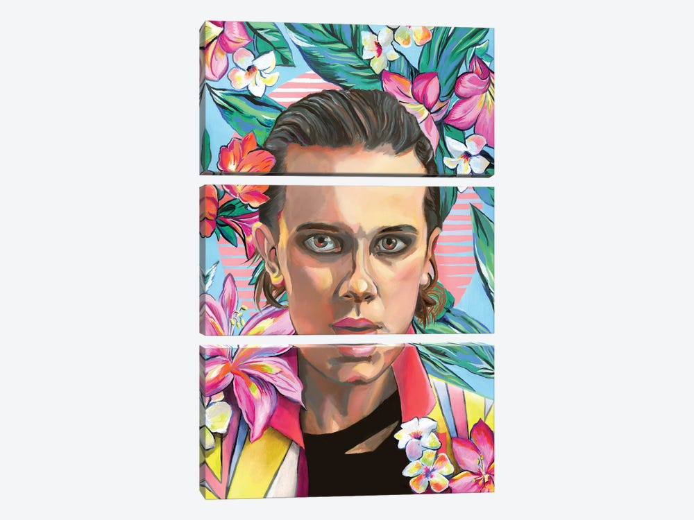 Jane by Heather Perry 3-piece Canvas Print