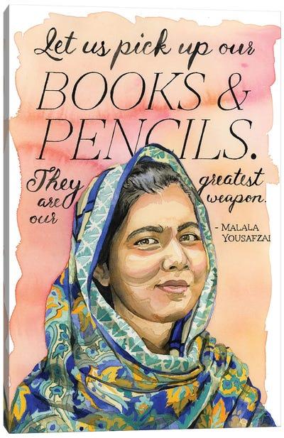 Malala Canvas Art Print