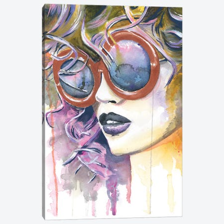 Painted Lady Canvas Print #HPE29} by Heather Perry Canvas Art