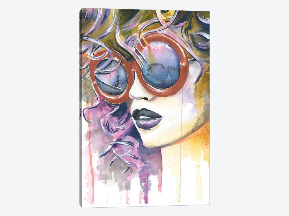 Painted Lady by Heather Perry 1-piece Canvas Print