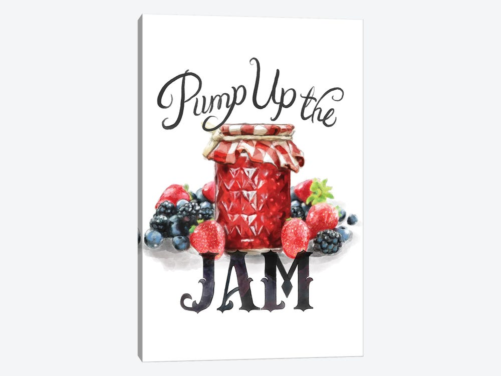 Pump Up The Jam by Heather Perry 1-piece Art Print