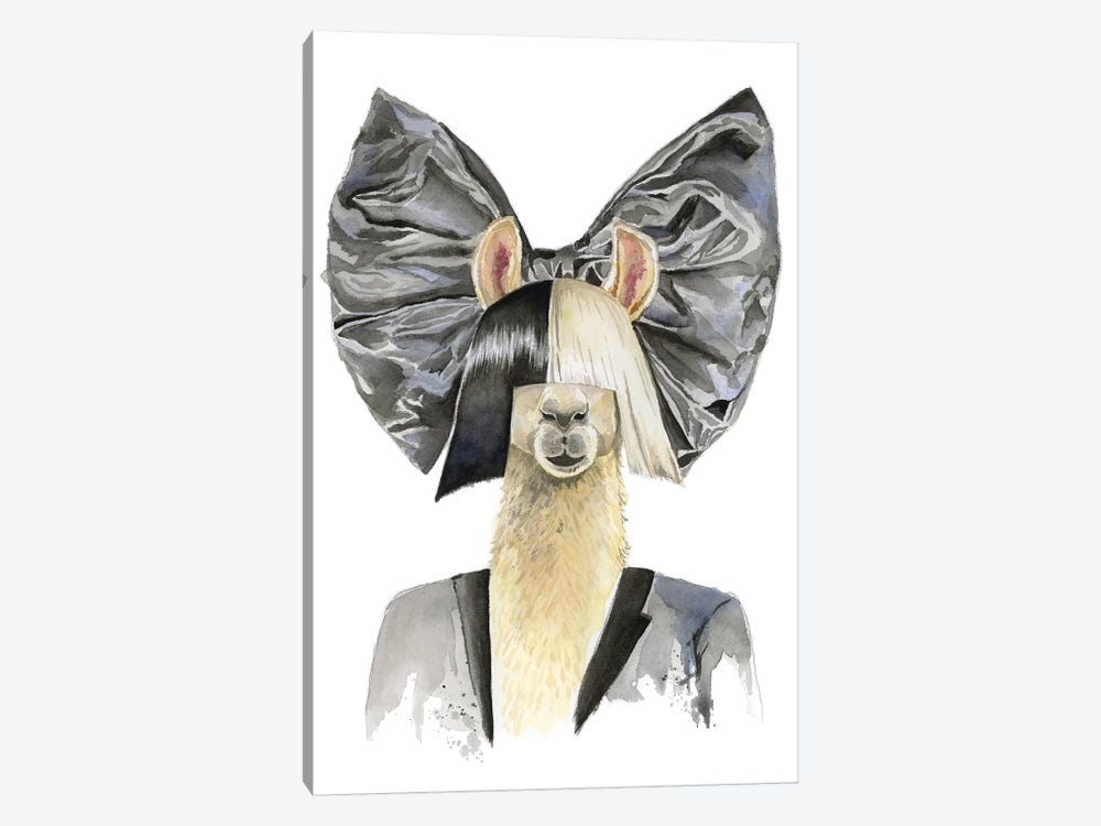 Sia Llama by Heather Perry 1-piece Art Print