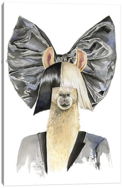 Sia Llama Canvas Art Print