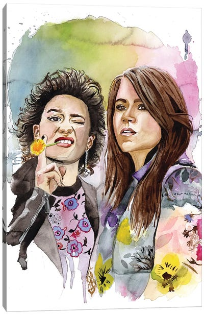 Abbi And Ilana Canvas Art Print
