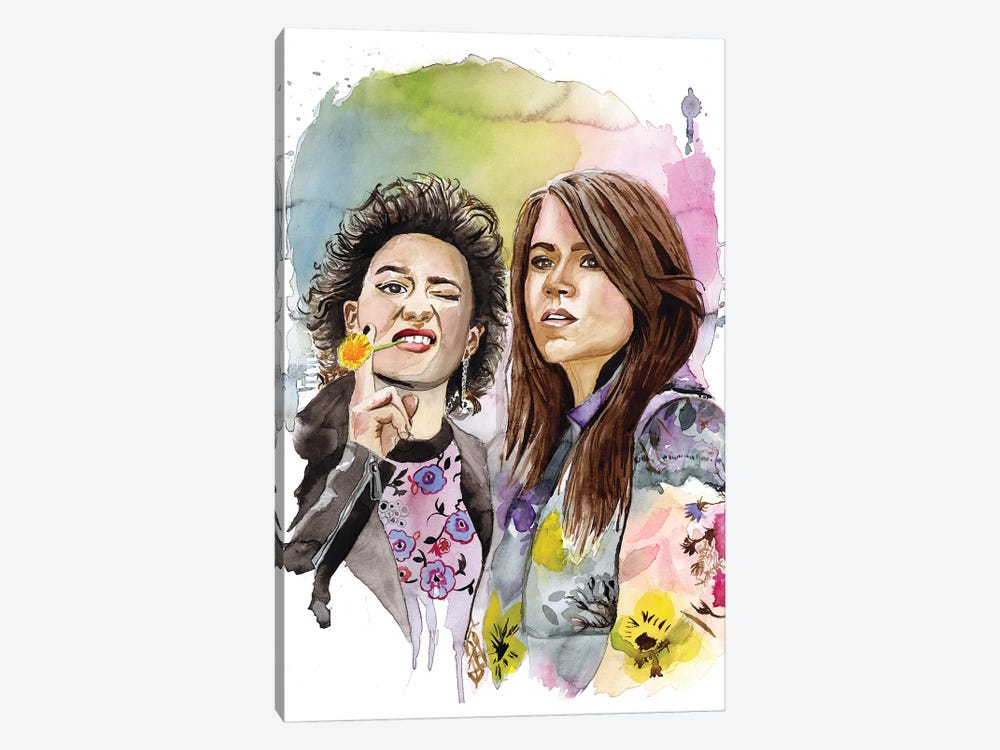 Abbi And Ilana by Heather Perry 1-piece Art Print