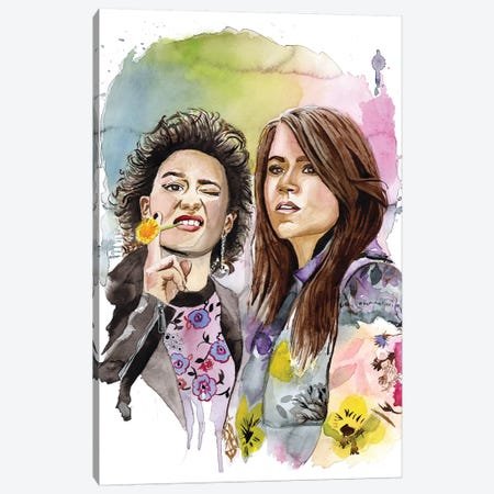 Abbi And Ilana Canvas Print #HPE3} by Heather Perry Art Print