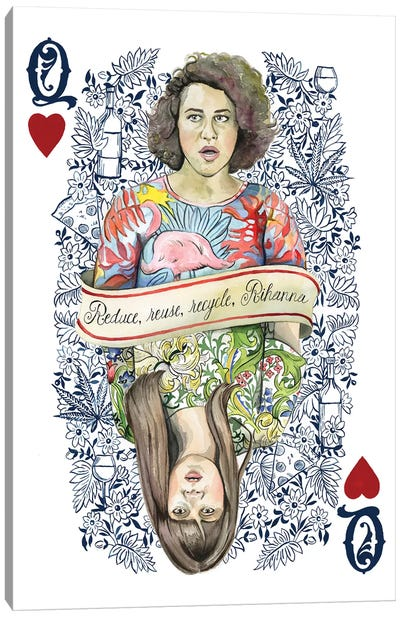 Two Queens Canvas Art Print