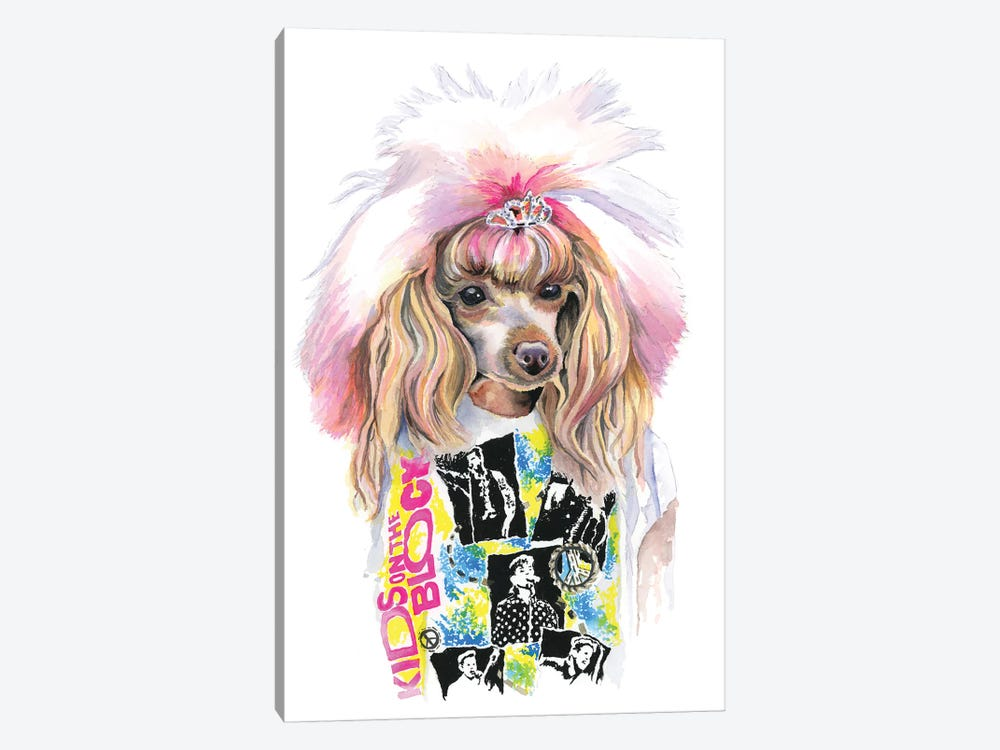 Valley Girl Puppy by Heather Perry 1-piece Canvas Artwork