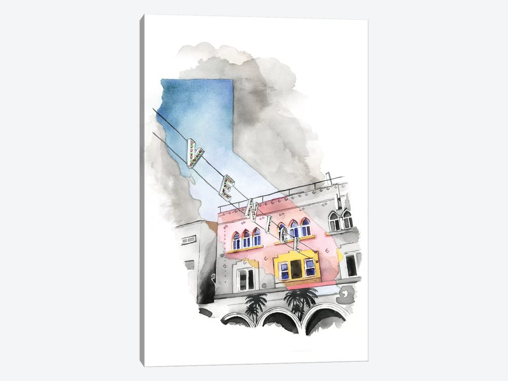 Venice, CA by Heather Perry 1-piece Art Print